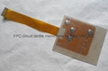 LED Backlight Tactile Membrane Switch with FPC Circuit, VTMS00315 10