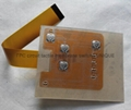 LED Backlight Tactile Membrane Switch with FPC Circuit, VTMS00315 11