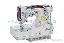 平方头式偏平缝绷缝机