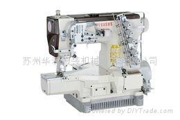 小方头式偏平缝绷缝机