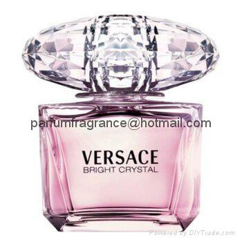Authentic Women Perfume Versace Bright Crystal Eau De Toilette Spray
