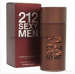 Designer Men's Perfume 212 Sexy Men Cologne EDP Male Fragrance