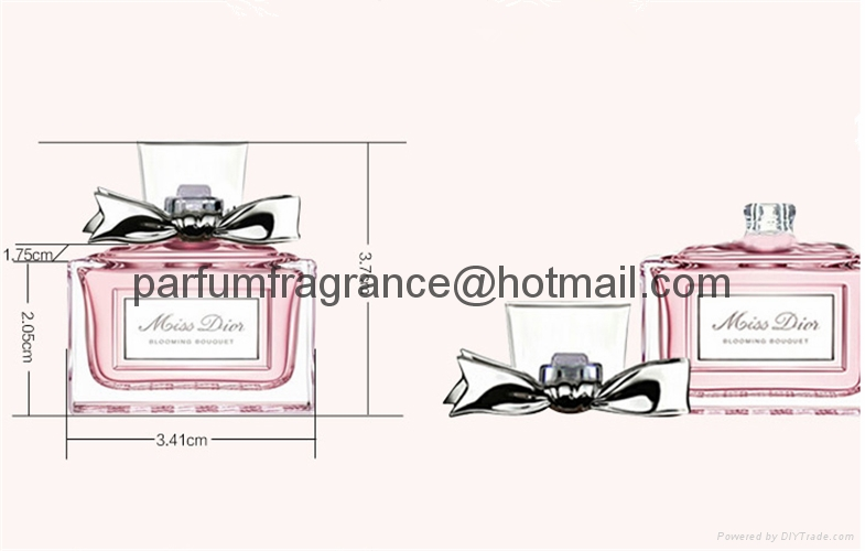 Original Franch Mini Branded Perfume Gift Sets For Women 5ml With Sparyer 9