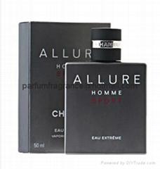 Original Branded Men's Cologne Allure Homme Sport Eau De Toilette Fragrance
