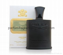 Creed Green Irish Tweed Men Cologne/ Mens Perfume With Black Glass Bottle