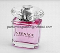 Versace Bright Crystal Women Perfume/Crystal Perfume Glass Bottle EDT Fragrance  6
