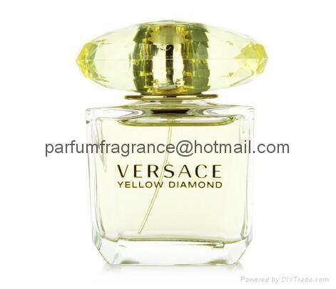 Versace Bright Crystal Women Perfume/Crystal Perfume Glass Bottle EDT Fragrance  12