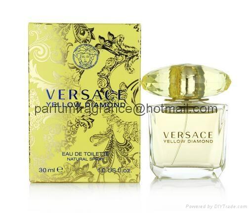 Versace Bright Crystal Women Perfume/Crystal Perfume Glass Bottle EDT Fragrance  10