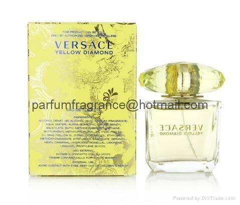 Versace Bright Crystal Women Perfume/Crystal Perfume Glass Bottle EDT Fragrance  11
