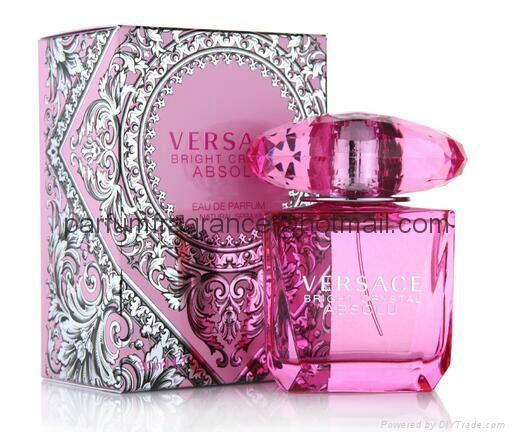 Versace Bright Crystal Women Perfume/Crystal Perfume Glass Bottle EDT Fragrance  2