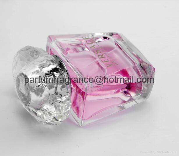Versace Bright Crystal Women Perfume/Crystal Perfume Glass Bottle EDT Fragrance  8