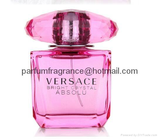 Versace Bright Crystal Women Perfume/Crystal Perfume Glass Bottle EDT Fragrance  3