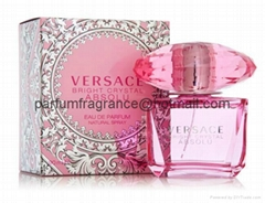 Versace Bright Crystal Women Perfume/Crystal Perfume Glass Bottle EDT Fragrance