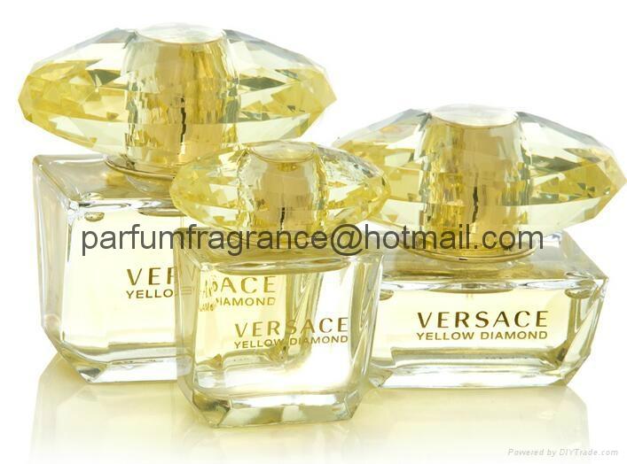 Versace Bright Crystal Women Perfume/Crystal Perfume Glass Bottle EDT Fragrance  14