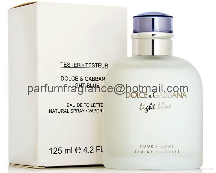 Tester Perfume D&G Light Blue Perfume Testers/White Box ...