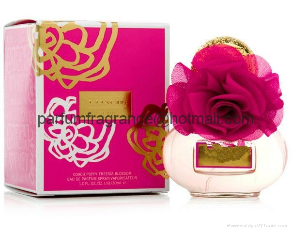 Franch Women Perfume Lady Perfumes EDT Fragrance With Flower Glass Bottle  2