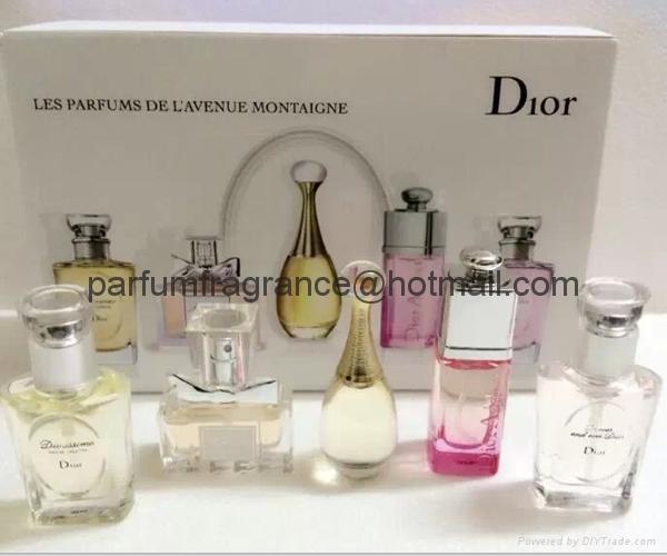 Women Perfume Gift Sets For Her 5*bottles 5ml , Women Parfums Fragrance 1