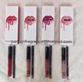 Kylie Lip Kit Lipstick Lip Gloss Lip Liner Set 8Colors