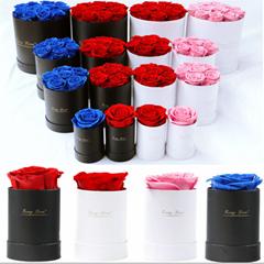 Preserved Flowers Gift  Of Hug Bucket  Eternal Roses Gifts Box