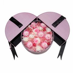 Eternal Flower Magic Castle Gift Box Preserved Roses Gifts Box For Wedding Love