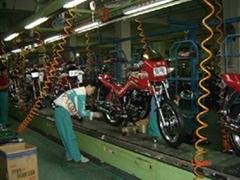 摩托車生產線