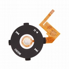 Clickwheel Flex cable (Black) for iPod Nano 1G