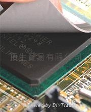 超高导热率矽胶片