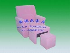 深圳安福尔足浴沙发 足疗沙发 美甲沙发 电动沙发