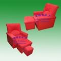 深圳安福尔足浴沙发 足疗沙发 美甲沙发 电动沙发 4
