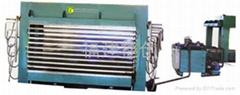 膠合板熱壓機