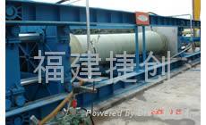 Sand fiber wound hydraulic testing machine