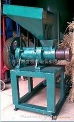 Large aquatic animal feed extrusion machine
