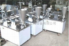 To build the new automatic lace dumpling machine