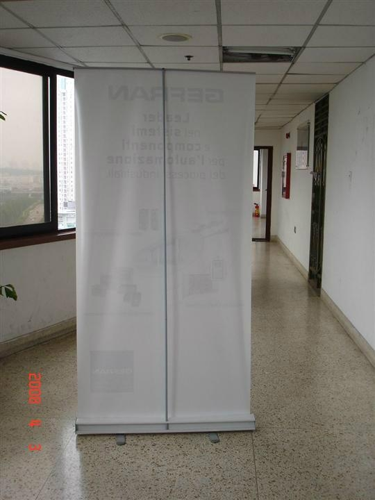 Economical roll up banner display stand  4