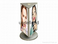 Table rotating light box
