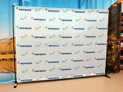 Exhibition Telescopic Backdrop
