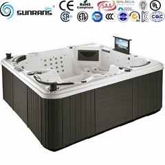 Luxury Balboa system outdoor massage hot tub for 5 person hot tub
