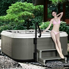 Hot sale Luxury outdoor massage spa tub for 5 person spa