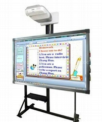 Even Thinner Frame construction Infrared Interactive Whiteboard