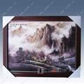 富贵和平瓷板画 2