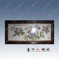 富贵和平瓷板画 5