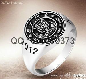 武汉大学央美毕业戒指   1