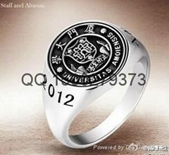 武汉大学央美毕业戒指
