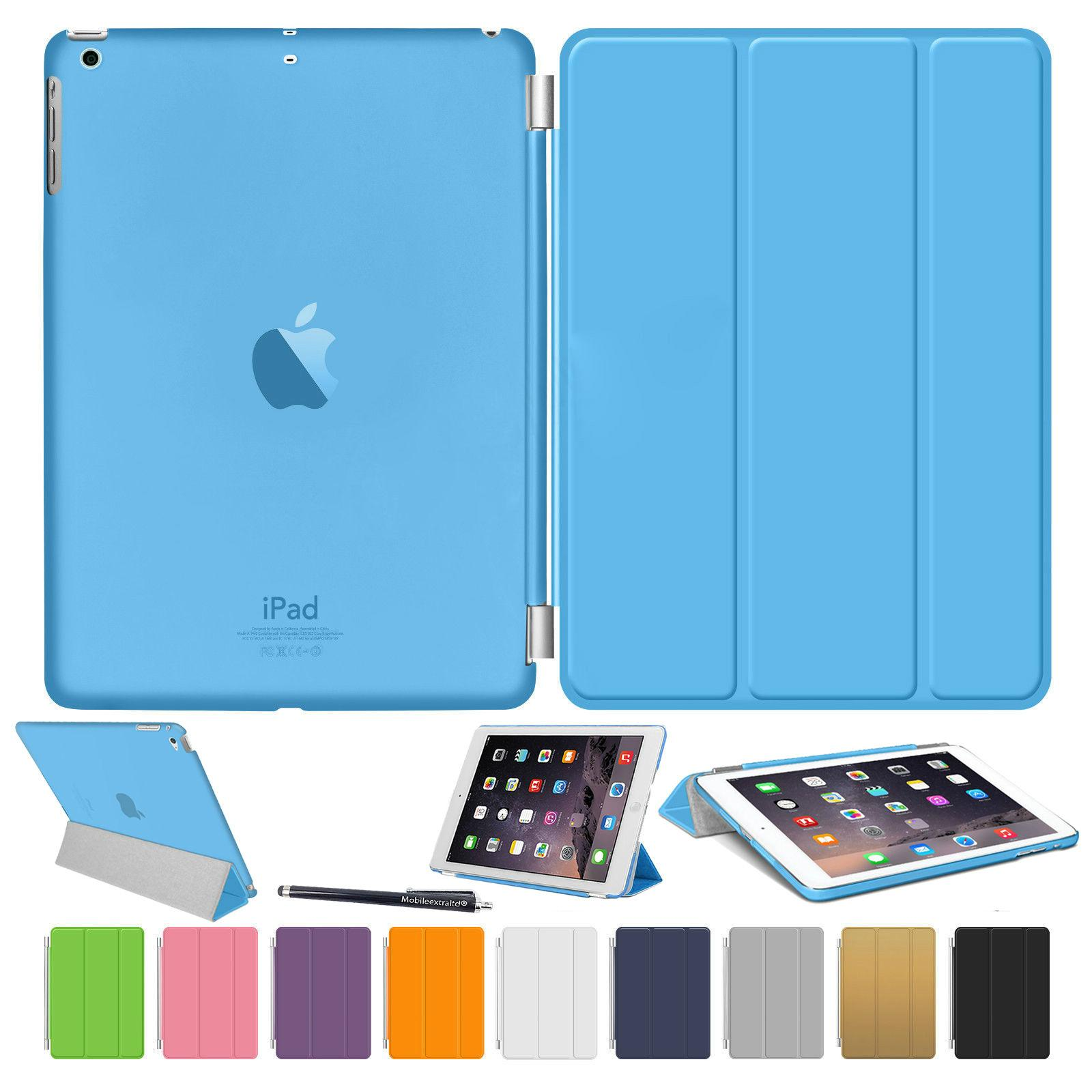 iPad Air 2 Smart Stand Magnetic Leather Case 1