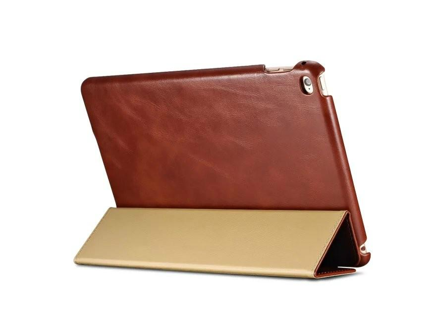 iCarer iPad Pro 12.9 inch Vintage Series With Triple Folded Leather Case 5