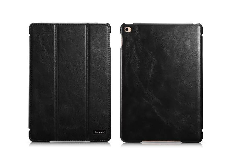 iCarer iPad Pro 12.9 inch Vintage Series With Triple Folded Leather Case 15