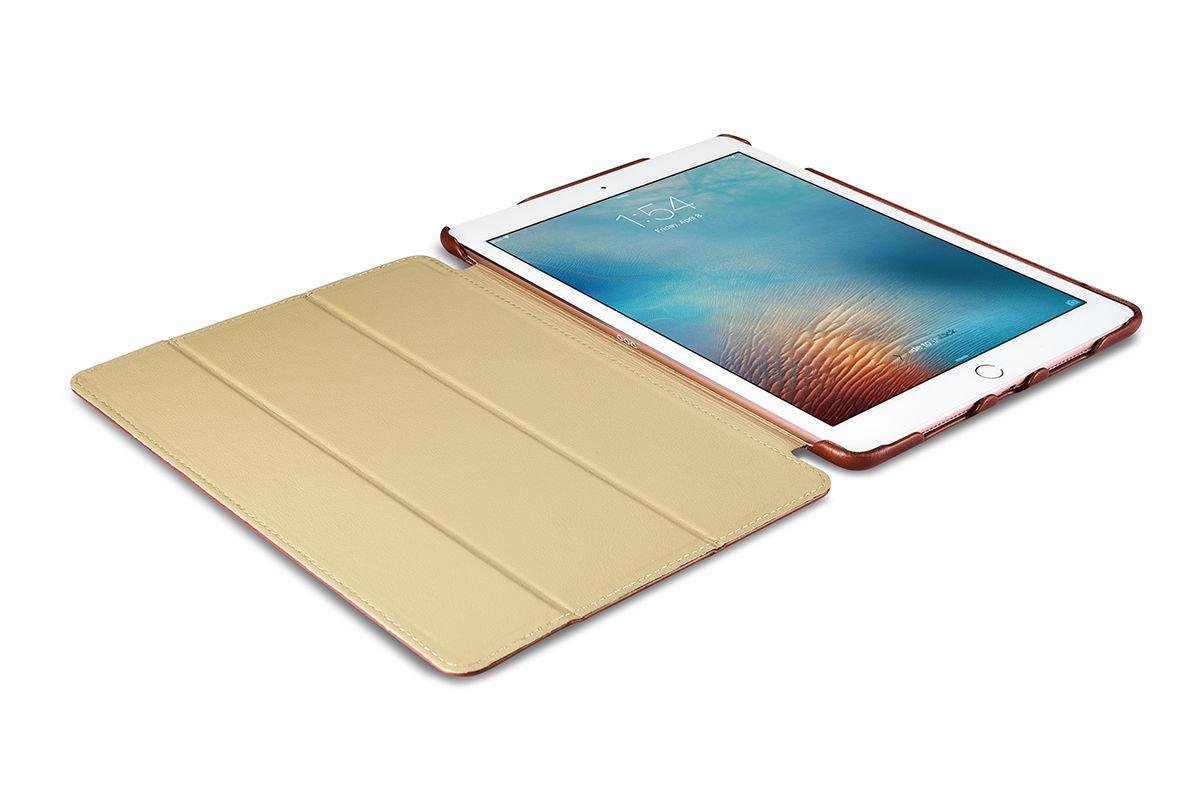 iCarer iPad Pro 9.7 inch Vintage Series Side Open Genuine Leather Case 10