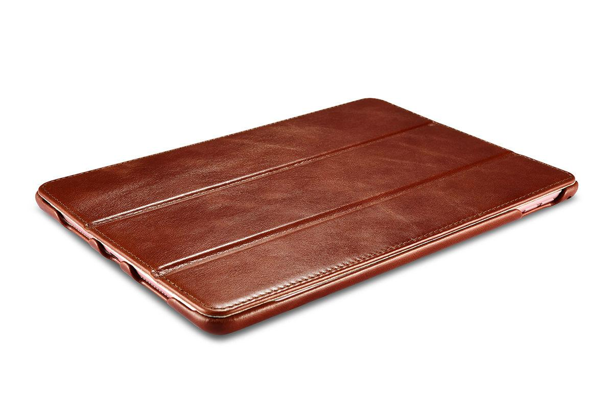 iCarer iPad Pro 9.7 inch Vintage Series Side Open Genuine Leather Case 9