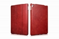 iCarer iPad Pro 9.7 inch Vintage Series Side Open Genuine Leather Case 17