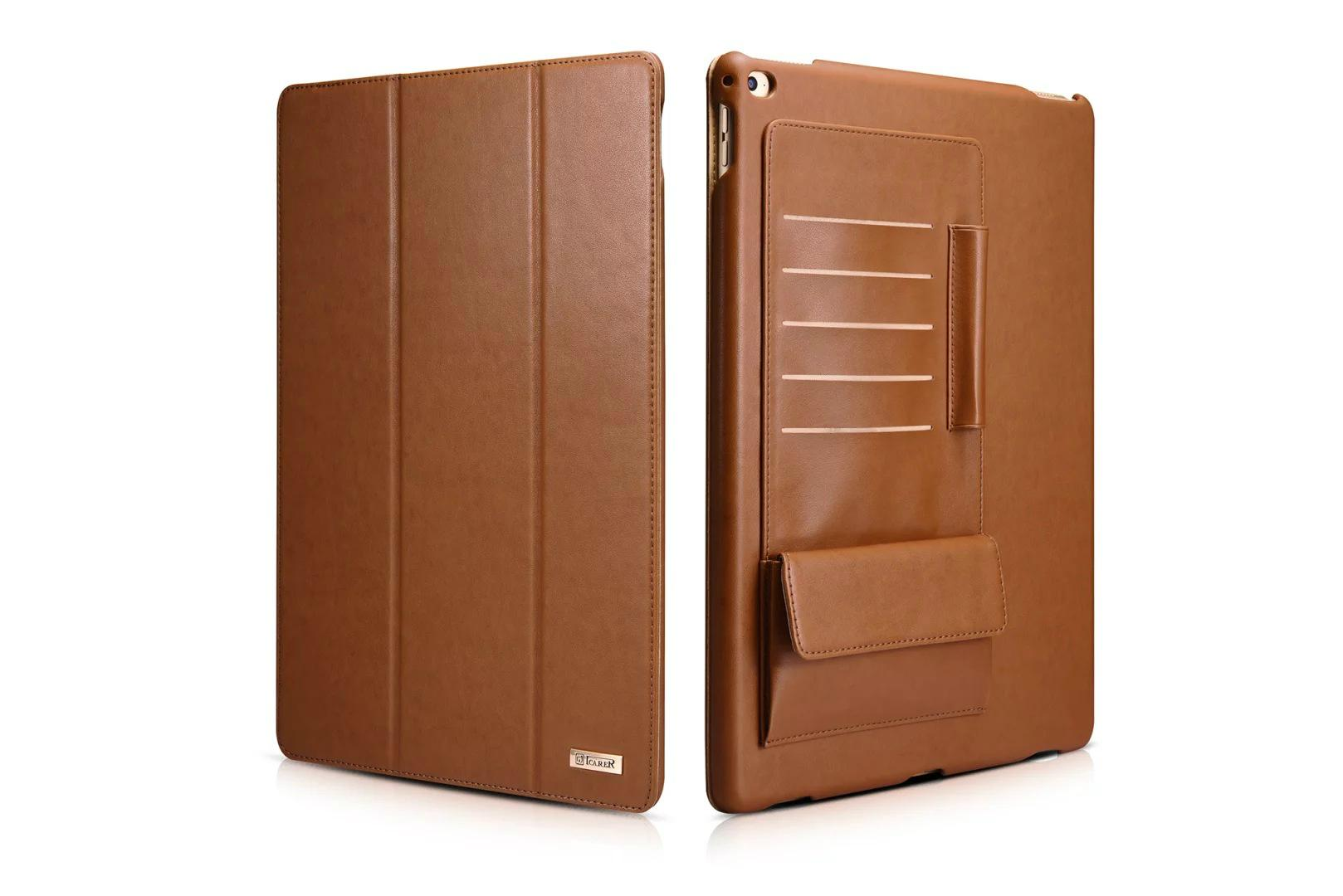 iCarer iPad Pro 12.9 inch Business Multi-credit cards Tablet PU Leather Case 2
